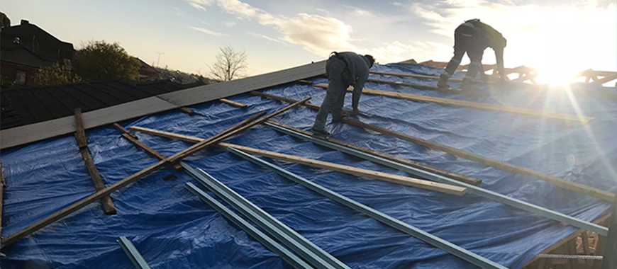 NEW ROOFS / RE ROOFING